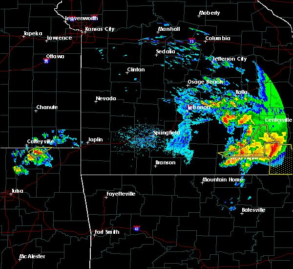 Radar Image for Severe Thunderstorms near Pomona, MO at 5/4/2020 4:09 PM CDT