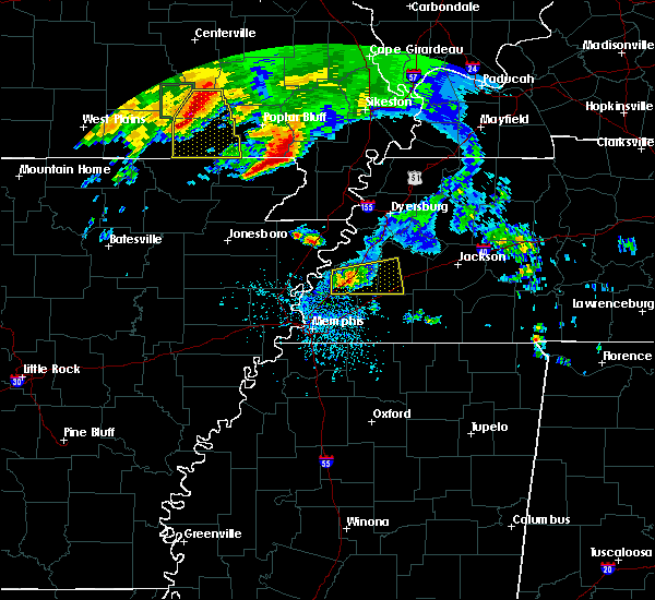 Radar Image for Severe Thunderstorms near Brighton, TN at 5/4/2020 4:19 PM CDT