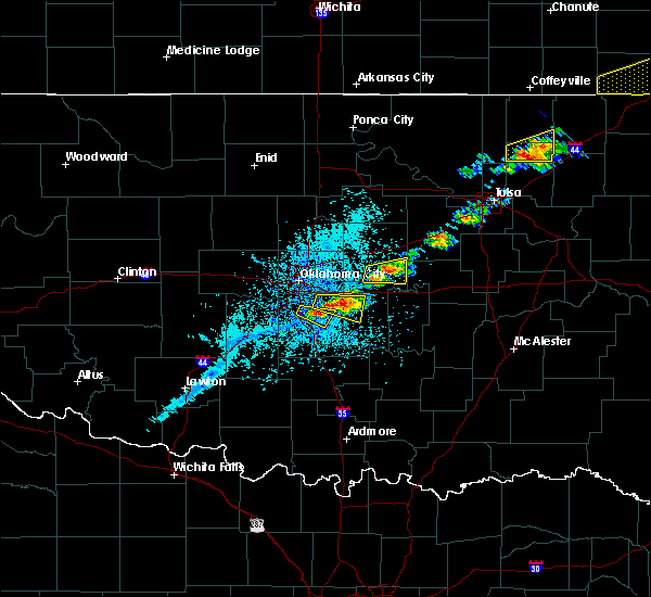Radar Image for Severe Thunderstorms near Norman, OK at 5/4/2020 4:59 PM CDT