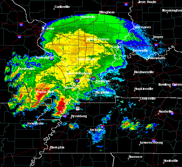 Radar Image for Severe Thunderstorms near Qulin, MO at 5/4/2020 5:08 PM CDT