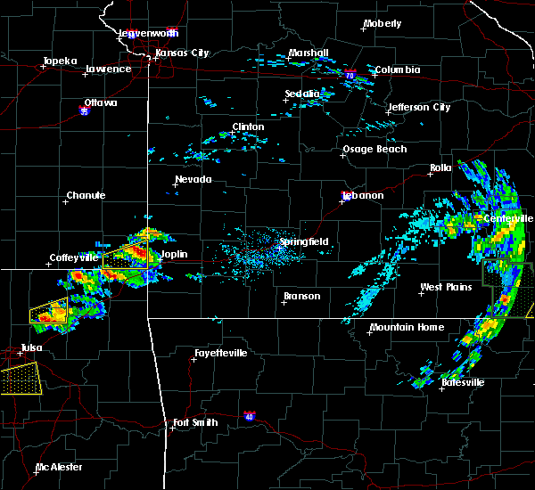 Radar Image for Severe Thunderstorms near Duenweg, MO at 5/4/2020 5:09 PM CDT