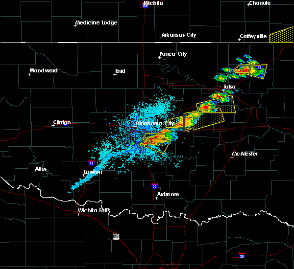 Radar Image for Severe Thunderstorms near Slaughterville, OK at 5/4/2020 5:14 PM CDT
