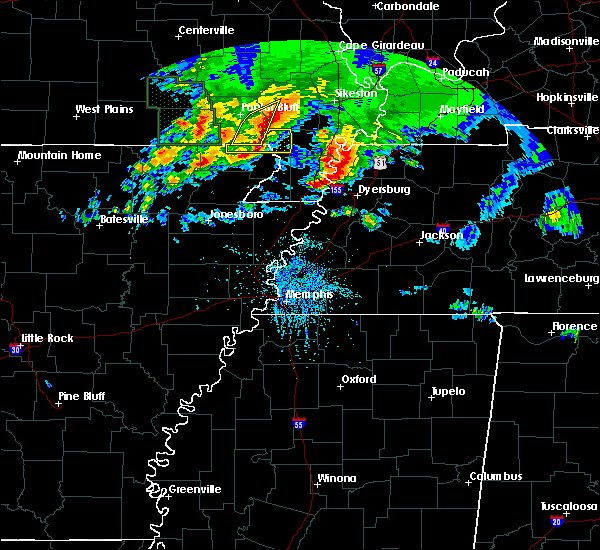 Radar Image for Severe Thunderstorms near Pascola, MO at 5/4/2020 5:15 PM CDT