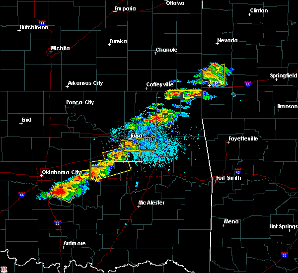 Radar Image for Severe Thunderstorms near Foyil, OK at 5/4/2020 5:25 PM CDT