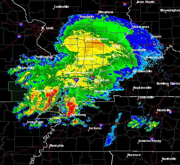 Radar Image for Severe Thunderstorms near Portageville, MO at 5/4/2020 5:29 PM CDT