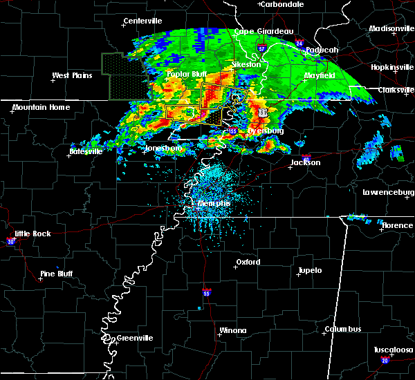 Radar Image for Severe Thunderstorms near Pascola, MO at 5/4/2020 5:35 PM CDT