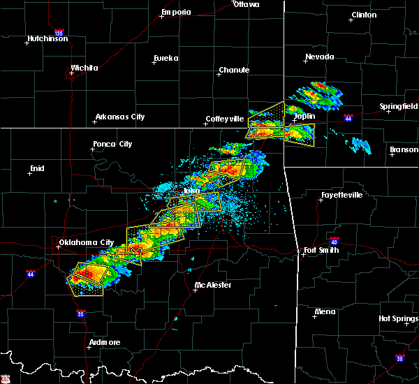 Radar Image for Severe Thunderstorms near Foyil, OK at 5/4/2020 5:45 PM CDT