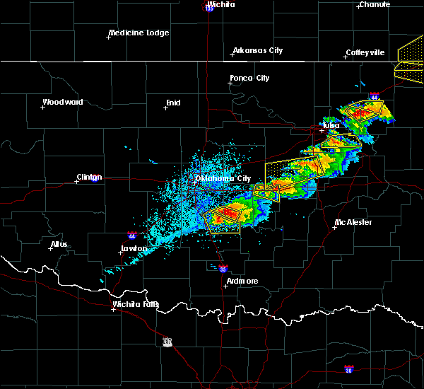 Radar Image for Severe Thunderstorms near Winchester, OK at 5/4/2020 5:54 PM CDT