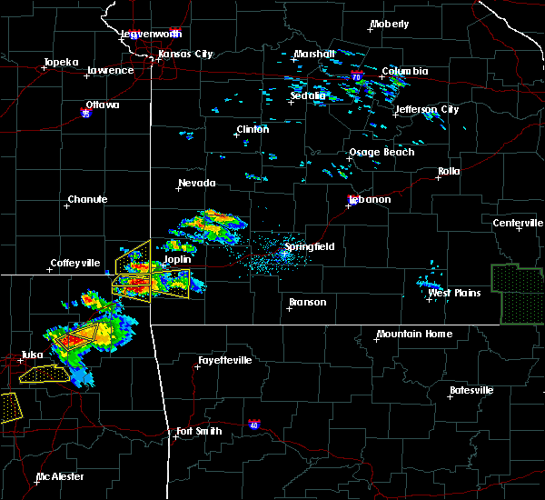 Radar Image for Severe Thunderstorms near Goodman, MO at 5/4/2020 5:58 PM CDT