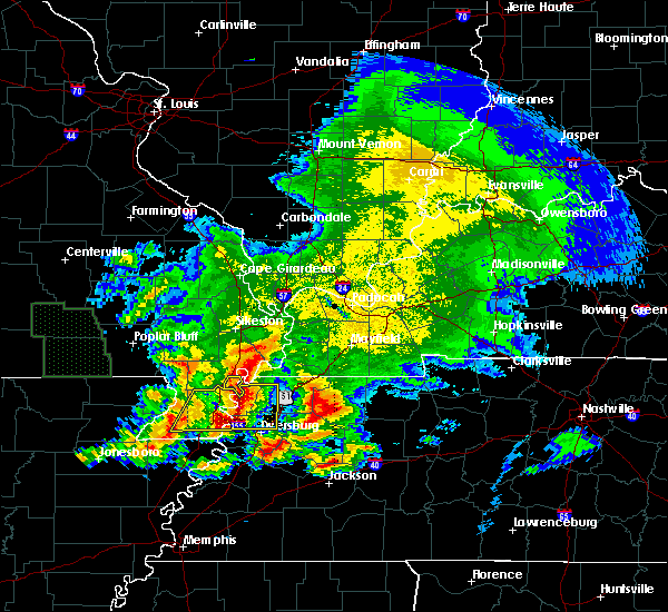 Radar Image for Severe Thunderstorms near Pascola, MO at 5/4/2020 6:01 PM CDT