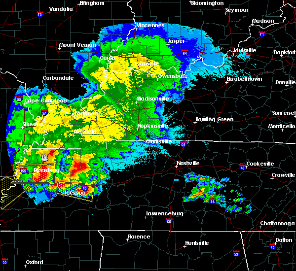 Radar Image for Severe Thunderstorms near Decaturville, TN at 5/4/2020 6:29 PM CDT