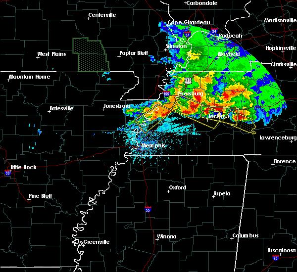 Radar Image for Severe Thunderstorms near Clarksburg, TN at 5/4/2020 6:41 PM CDT