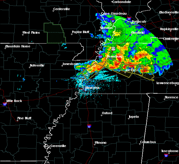 Radar Image for Severe Thunderstorms near Marie, AR at 5/4/2020 6:43 PM CDT