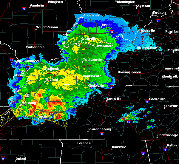 Radar Image for Severe Thunderstorms near Scotts Hill, TN at 5/4/2020 6:46 PM CDT