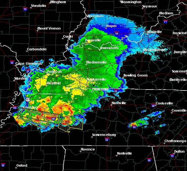 Radar Image for Severe Thunderstorms near Scotts Hill, TN at 5/4/2020 6:56 PM CDT