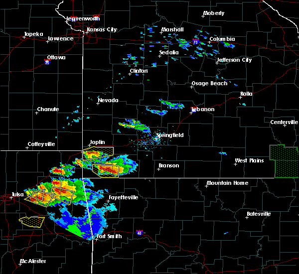 Radar Image for Severe Thunderstorms near Washburn, MO at 5/4/2020 7:06 PM CDT