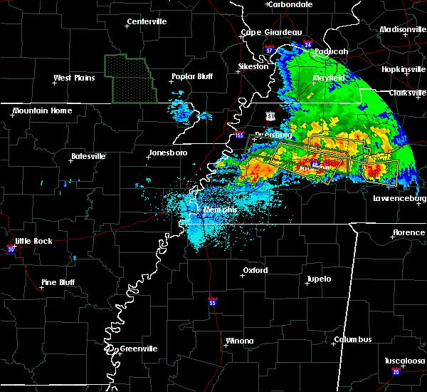 Radar Image for Severe Thunderstorms near Clarksburg, TN at 5/4/2020 7:09 PM CDT