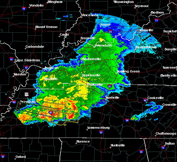 Radar Image for Severe Thunderstorms near Decaturville, TN at 5/4/2020 7:14 PM CDT