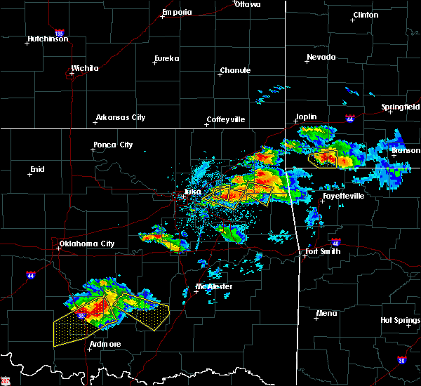 Radar Image for Severe Thunderstorms near Leach, OK at 5/4/2020 7:16 PM CDT