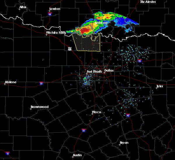 Radar Image for Severe Thunderstorms near Callisburg, TX at 5/4/2020 8:22 PM CDT