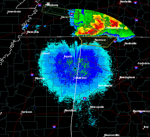 Radar Image for Severe Thunderstorms near Lexington, AL at 5/4/2020 8:29 PM CDT