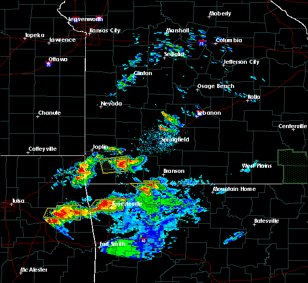 Radar Image for Severe Thunderstorms near Verona, MO at 5/4/2020 8:32 PM CDT