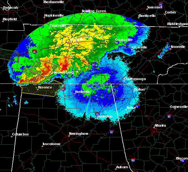 Radar Image for Severe Thunderstorms near Lewisburg, TN at 5/4/2020 8:39 PM CDT