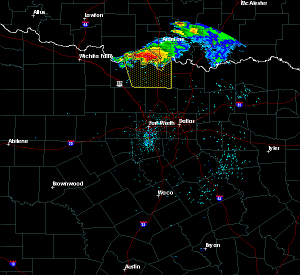 Radar Image for Severe Thunderstorms near Thackerville, OK at 5/4/2020 8:41 PM CDT