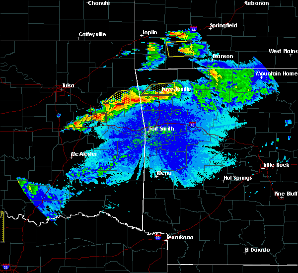 Radar Image for Severe Thunderstorms near Park Hill, OK at 5/4/2020 8:52 PM CDT