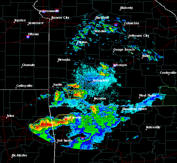 Radar Image for Severe Thunderstorms near Verona, MO at 5/4/2020 8:53 PM CDT