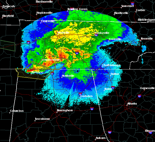 Radar Image for Severe Thunderstorms near Lexington, AL at 5/4/2020 9:09 PM CDT