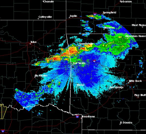 Radar Image for Severe Thunderstorms near Bell, OK at 5/4/2020 9:19 PM CDT
