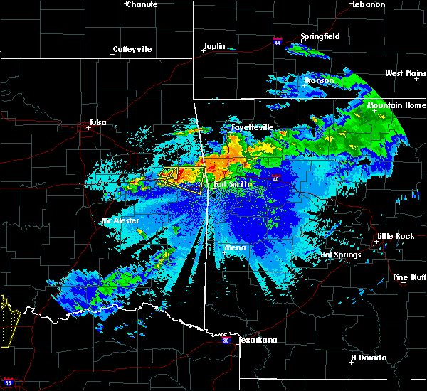 Radar Image for Severe Thunderstorms near Short, OK at 5/4/2020 9:44 PM CDT