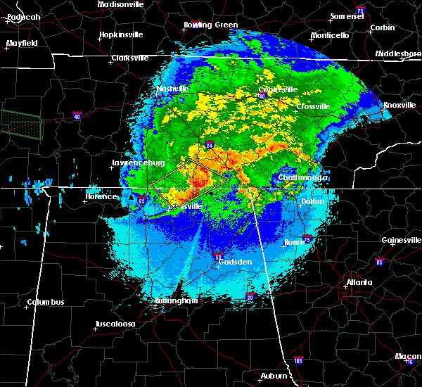Radar Image for Severe Thunderstorms near Decherd, TN at 5/4/2020 9:54 PM CDT
