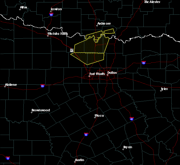 Radar Image for Severe Thunderstorms near St. Jo, TX at 5/4/2020 10:15 PM CDT