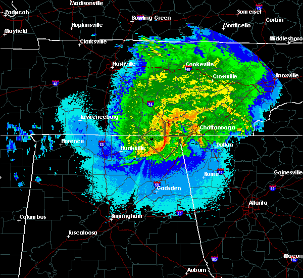 Radar Image for Severe Thunderstorms near New Hope, TN at 5/4/2020 10:18 PM CDT