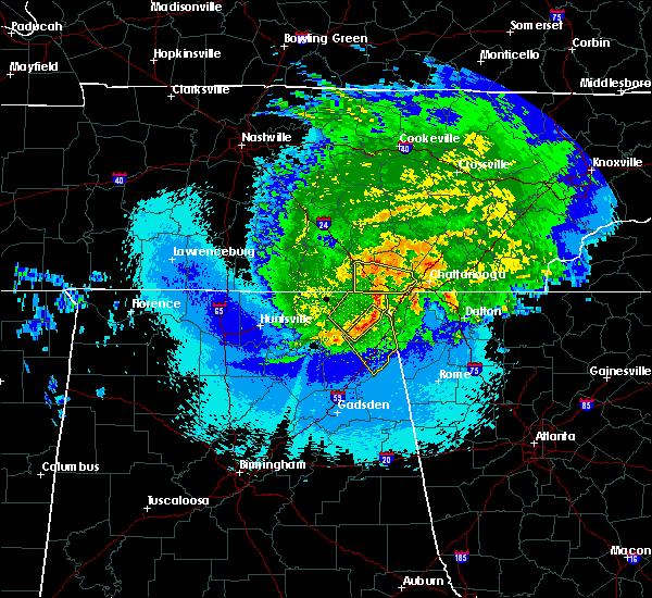 Radar Image for Severe Thunderstorms near Ider, AL at 5/4/2020 10:29 PM CDT