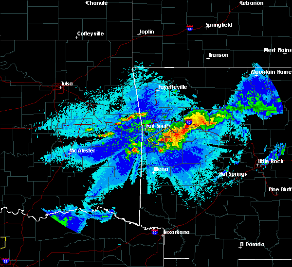 Radar Image for Severe Thunderstorms near Short, OK at 5/4/2020 10:51 PM CDT