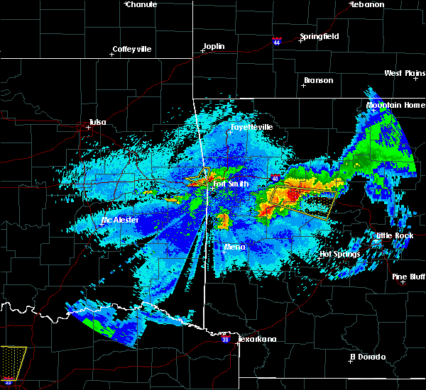 Radar Image for Severe Thunderstorms near Long, OK at 5/4/2020 11:13 PM CDT