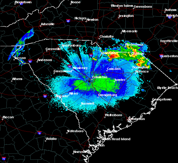 Radar Image for Severe Thunderstorms near Patrick, SC at 5/5/2020 12:44 AM EDT