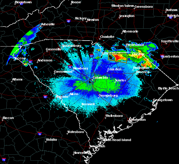 Radar Image for Severe Thunderstorms near Patrick, SC at 5/5/2020 12:59 AM EDT