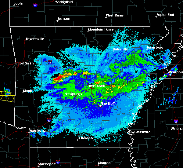 Radar Image for Severe Thunderstorms near Perryville, AR at 5/5/2020 1:09 AM CDT