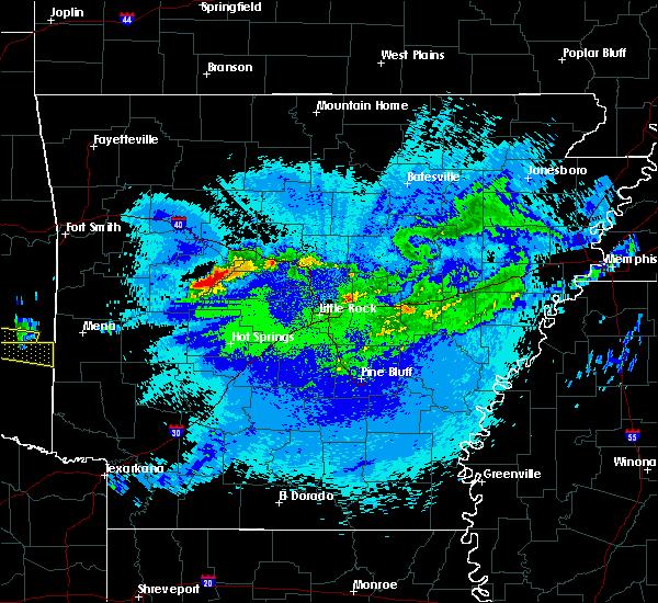 Radar Image for Severe Thunderstorms near Adona, AR at 5/5/2020 1:09 AM CDT