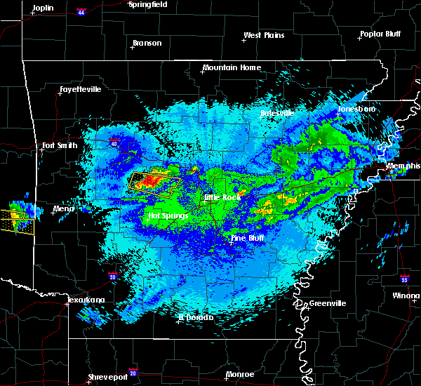 Radar Image for Severe Thunderstorms near Perryville, AR at 5/5/2020 1:24 AM CDT