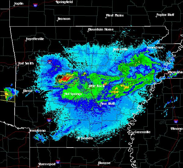Radar Image for Severe Thunderstorms near Adona, AR at 5/5/2020 1:24 AM CDT