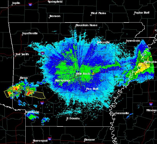 Radar Image for Severe Thunderstorms near Delight, AR at 5/5/2020 2:48 AM CDT
