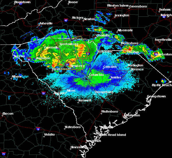 Radar Image for Severe Thunderstorms near JAARS, NC at 5/5/2020 4:00 AM EDT