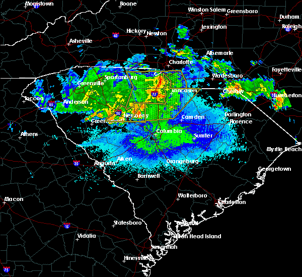 Radar Image for Severe Thunderstorms near JAARS, NC at 5/5/2020 4:16 AM EDT