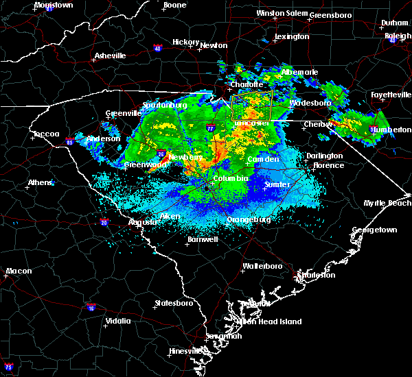 Radar Image for Severe Thunderstorms near Wingate, NC at 5/5/2020 4:54 AM EDT