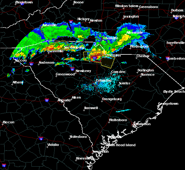 Radar Image for Severe Thunderstorms near Richburg, SC at 5/5/2020 6:41 PM EDT